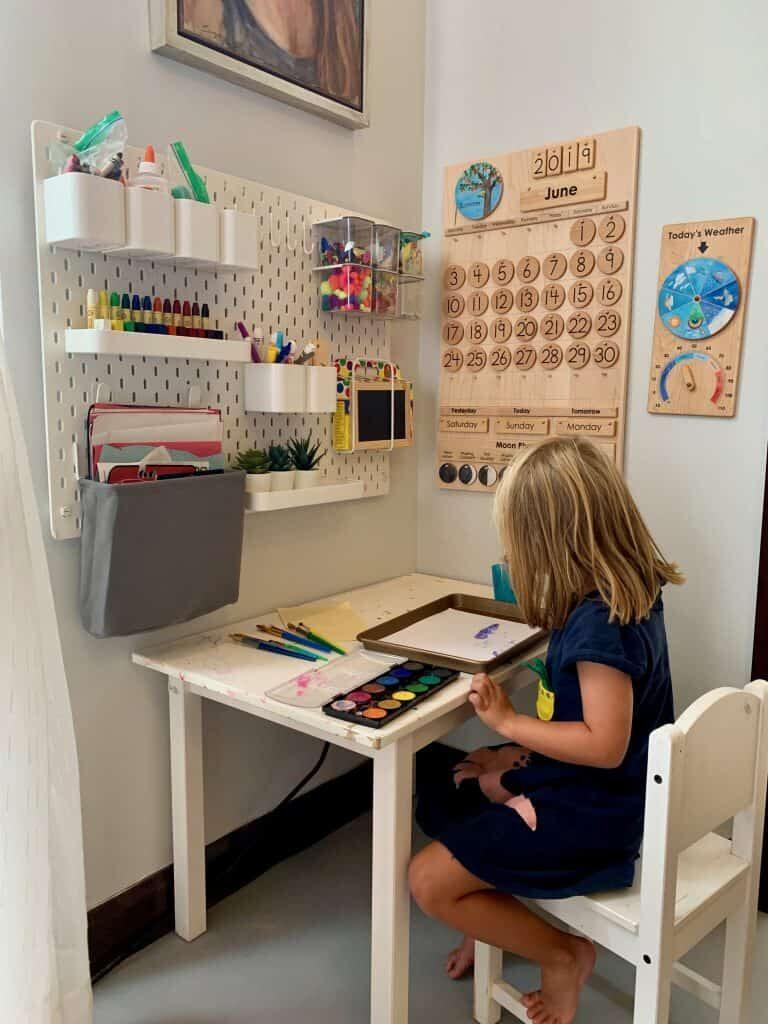 Small Space Homeschool Room Ideas