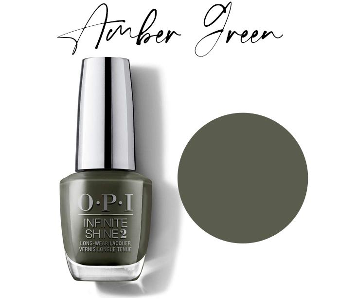 OPI Amber Green - My Favorite Fall Nail Polish Colors