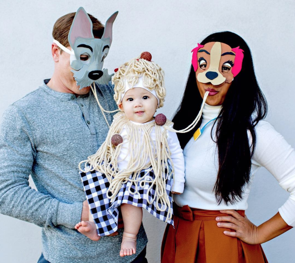 Lady and The Tramp Family Halloween Costume