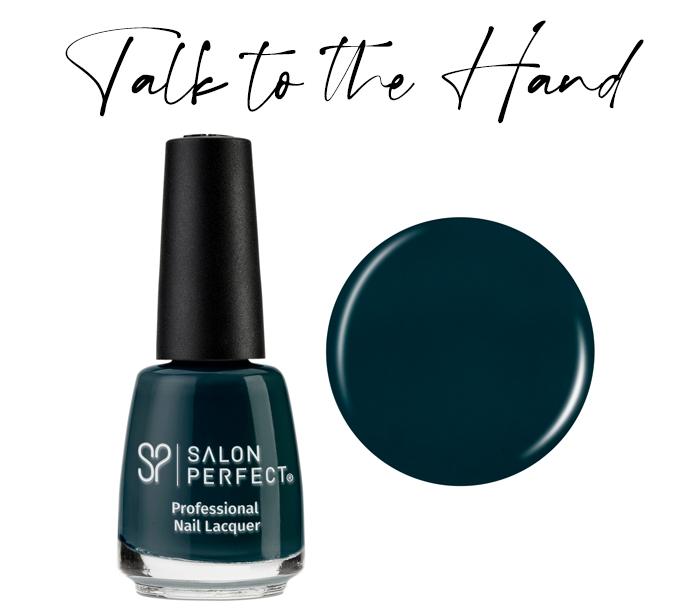 Salon Perfect Nail Polish Talk To The Hand - My Favorite Fall Nail Polish Colors