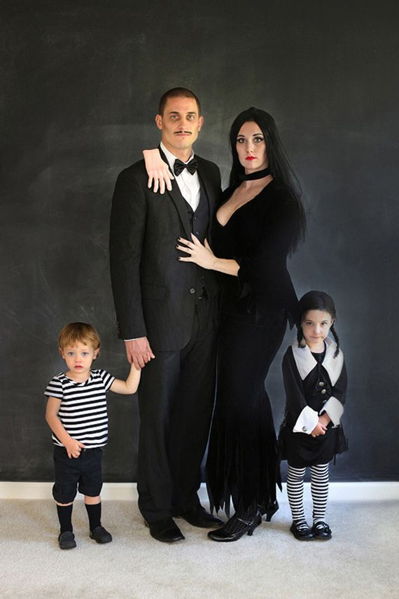 The Addam's Family Halloween Costume idea - Family Costumes