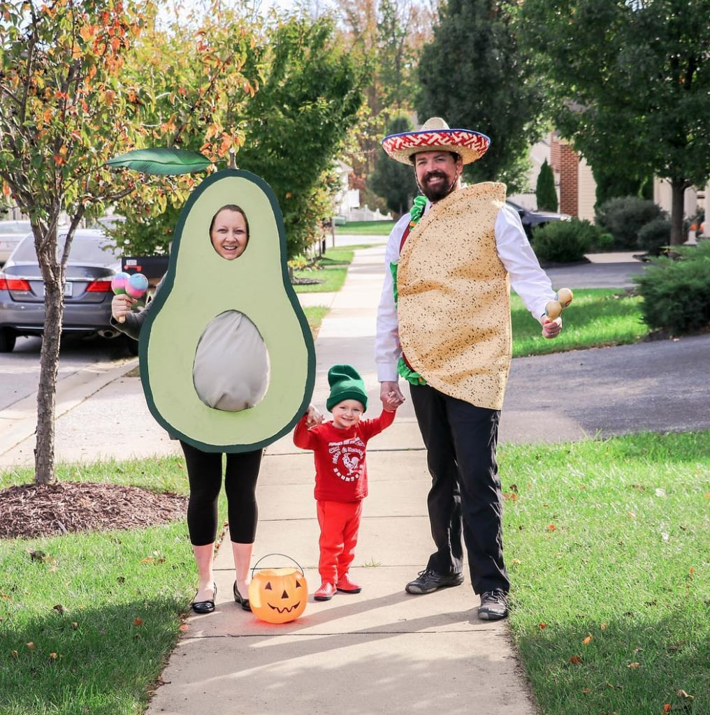 Taco, Avocado and Siracha funny Halloween Costume Idea - Family Costumes