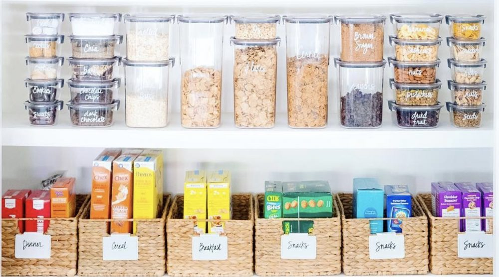 The Home Edit Pantry Organization Project