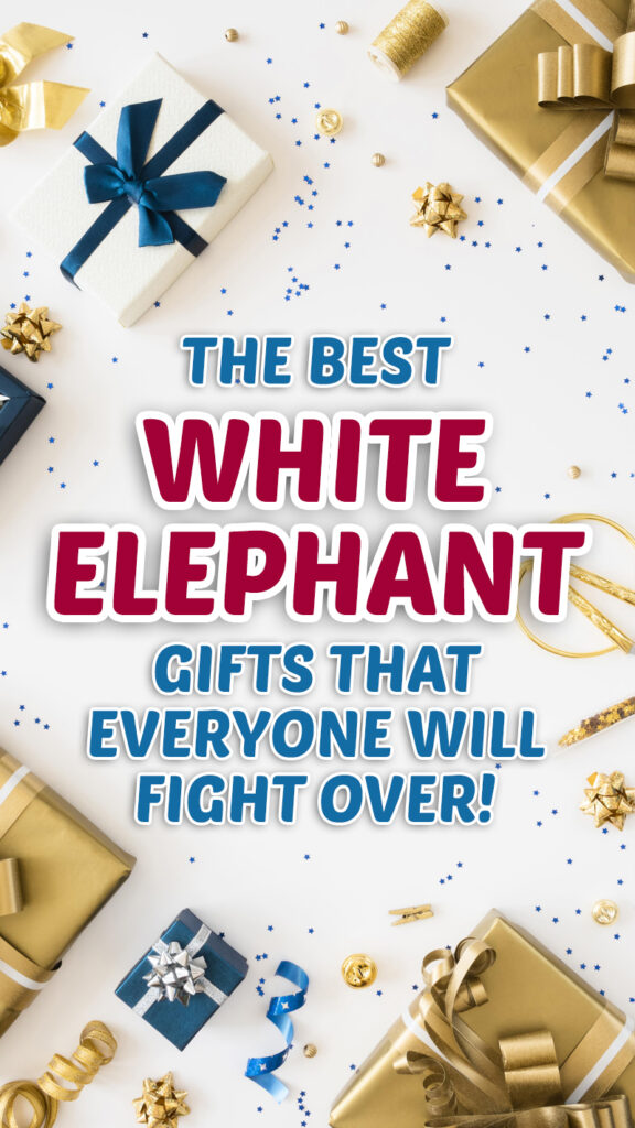 The Best White Elephant Gifts that everyone will fight over! #christmas #whiteelephant #gifts #giftguide