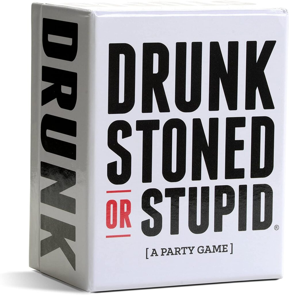 Drunk Stoned or Stupid - game funny white elephant gifts