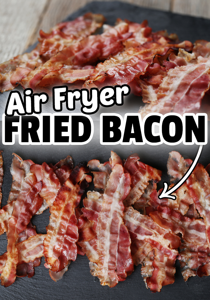 Air Fryer Bacon is the best way to make bacon that comes out crispy and perfect every time. Air Fryer Recipes