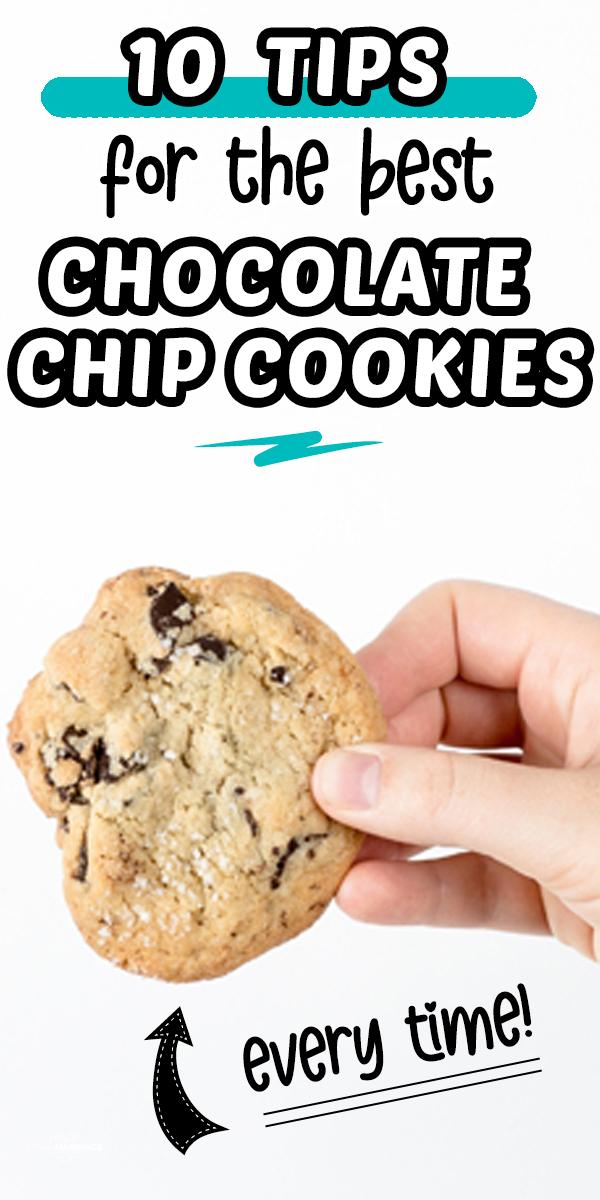 10 Tips for The Best Chocolate Chip Cookies   Cookie Baking Hacks #tips #tricks #cookies #baking