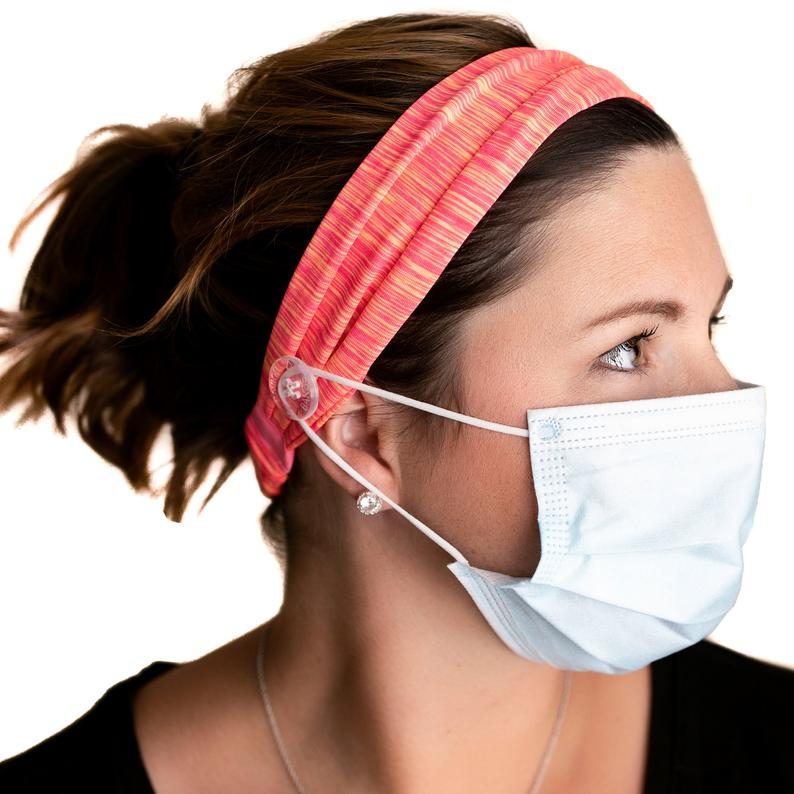 Face Mask Headband - Anti Fog Spray for glasses - Face Mask Accessories