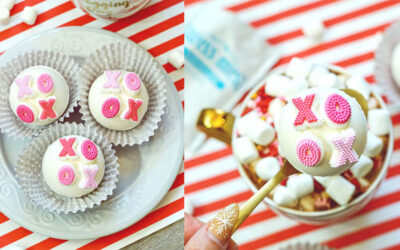 XOXO Hot Chocolate Bombs