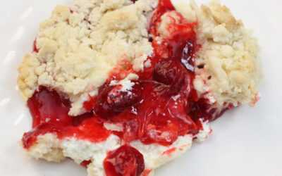 Strawberry Cheesecake Dump Cake