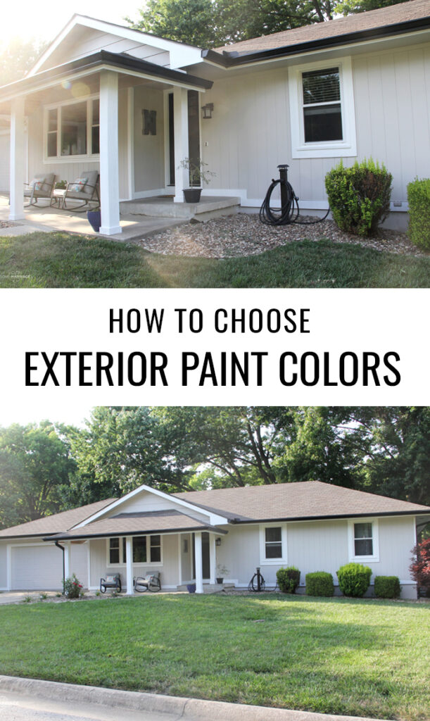 How To Choose Exterior Paint Colors For Your House - Collingwood Gray