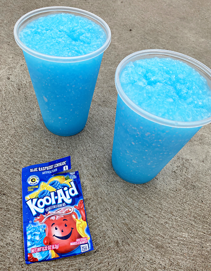 How To Make Kool Aid Slushies #drinks