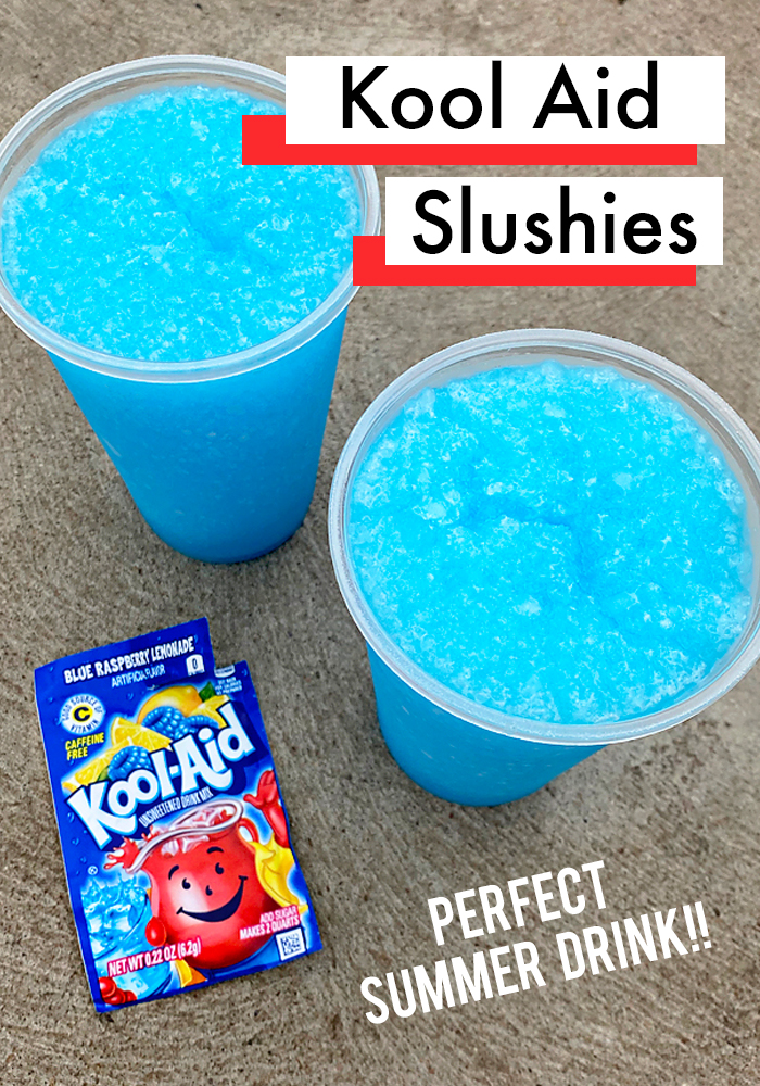 How To Make Kool Aid Slushies - Fun Summer Treat for Kids. #drinks #recipes