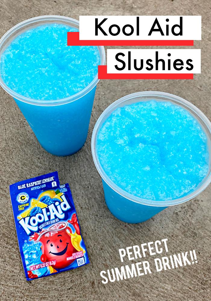 How To Make Kool Aid Slushies - Fun Summer Treat for Kids. #drinks #recipes