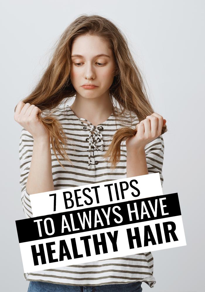 7 Genius Healthy Hair Tips