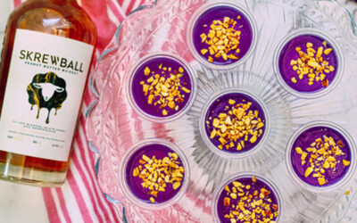 peanut butter and jelly shots